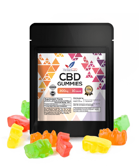 Verified CBD Gummies 200mg