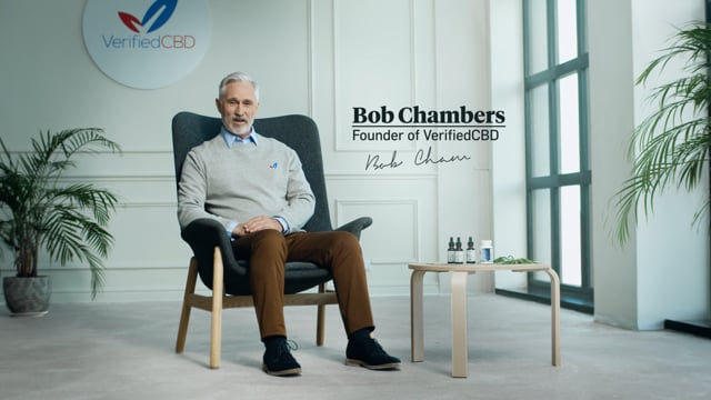 Verified CBD Founder, Bob Chambers